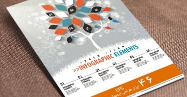 ابزار طراحی اینفوگرافیک-مجموعه 46