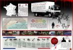 اینفوگرافیک کامیون مرگ در نیس فرانسه