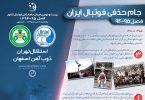 اینفوگرافیک جام حذفی فوتبال ایران
