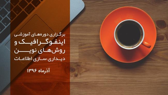 فراخوان دو کارگاه آموزشی اینفوگرافیک در ایرانداک – آذر 1396