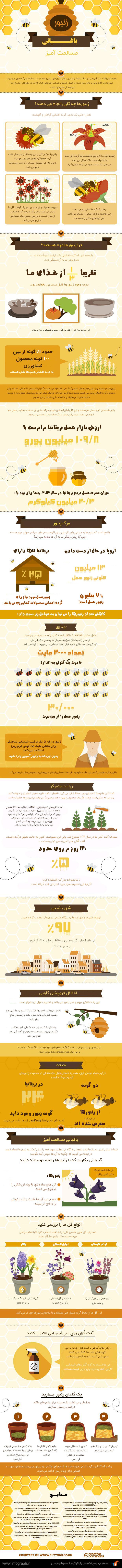 زنبور، باغبانی مسالمت آمیز
